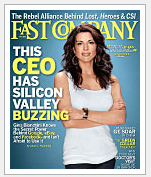 Gina Bianchini on the cover of Fast Company