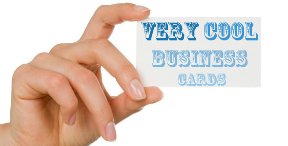 Four Very Cool Business Card Ideas