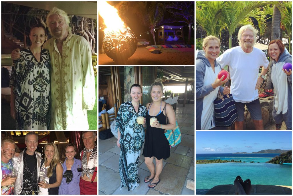 A week on Necker Island with Sir Richard Branson