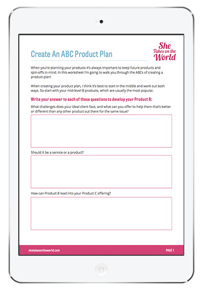 ABC Product Plan