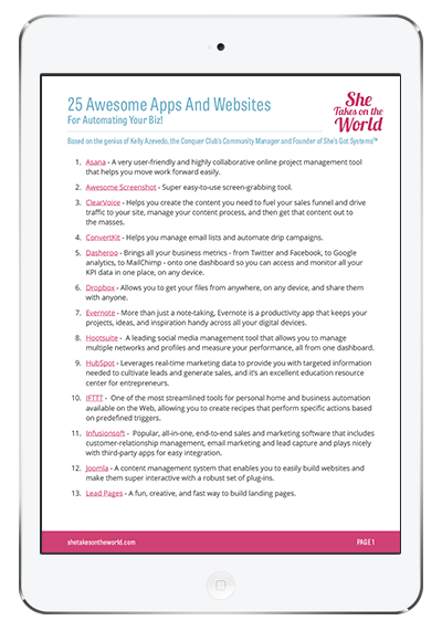 25 Awesome Apps and Websites For Automating Your Biz